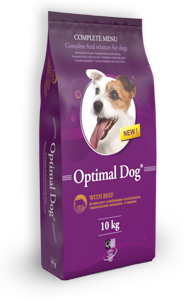 Optimal Dog 10kg - hovädzie