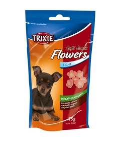 Trixie Soft Snack Flowers 75g