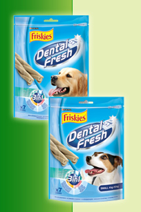 Friskies Dental Fresh 3v1, 110g