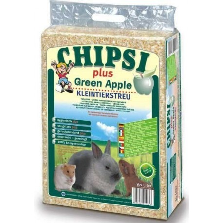 CHIPSI Green Apple 60l-hobliny lisované