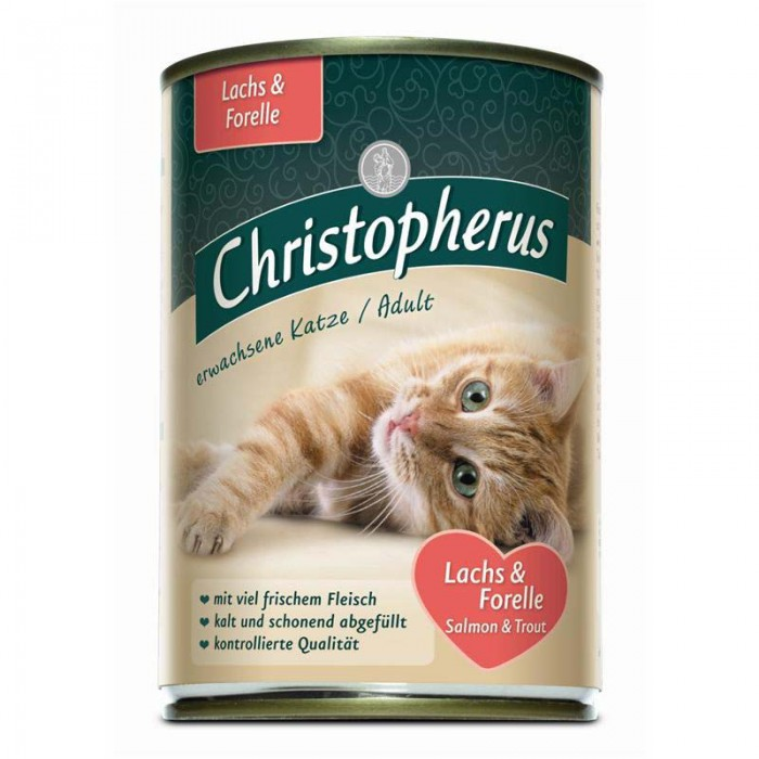 Christopherus Adult Losos+pstruh 400g