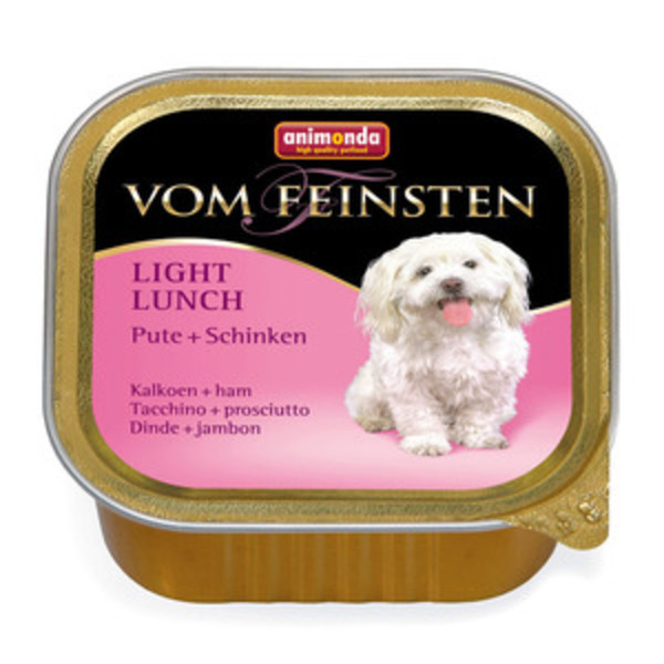 Animonda VOM FEINSTEN Light Lunch morka a šunka 150g