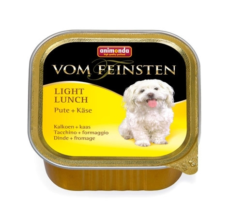 Animonda VOM FEINSTEN Light Lunch morka a syr 150g