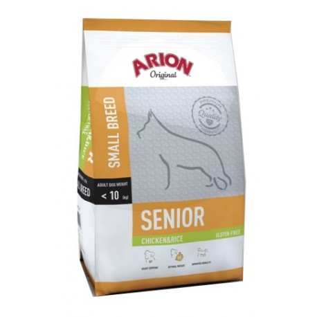 ARION Original Senior Small Breed Chicken&rice 3kg