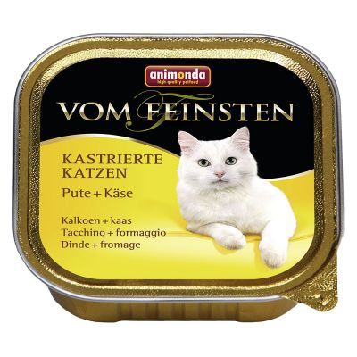 Animonda Vom Feinsten Castrated Cats - morka+syr 100g