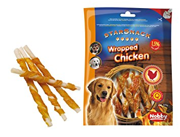 Nobby StarSnack Wrapped Chicken S 113g