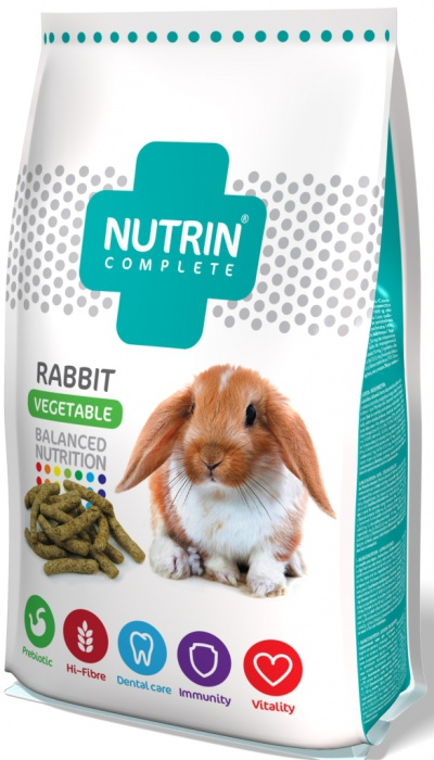 Nutrin Complete Rabbit Vegetable 1.5kg