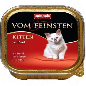 Animonda Vom Feinsten Kitten - hovädzie 100g