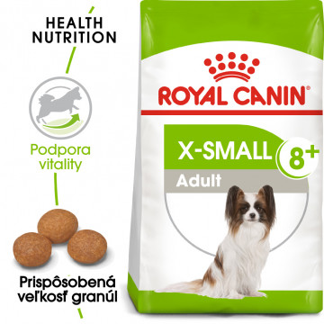Royal Canin X-small mature +8, 1,5kg